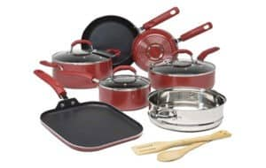 Goodful Premium Non-Stick 12-Piece Cookware Set