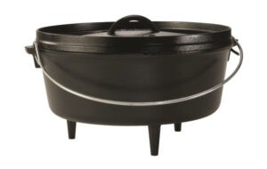 Lodge Cast Iron Camp Dutch Oven