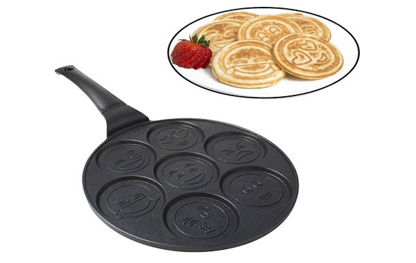 Smiley Face Emoji Pancake Pan