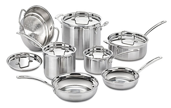 Cuisinart MCT-12N Stainless Steel 12- Piece Cookware Review