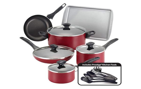 Farberware 21807 Nonstick Cookware Pots and Pans Set