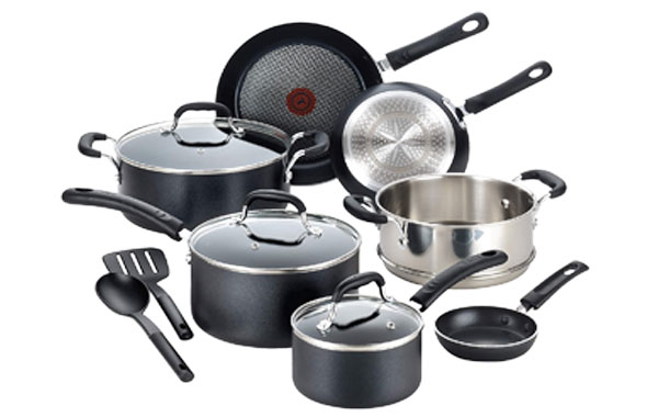 T-FAL C515SC Professional Nonstick Cookware Set
