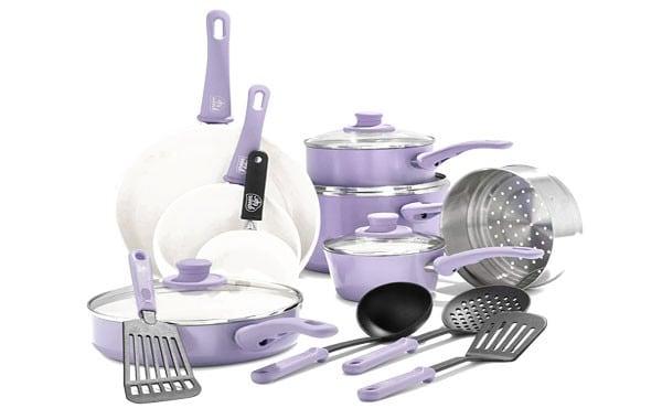 Non-Stick 16 Piece Cookware Set Reviews