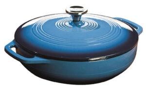Enamel Cast Iron Casserole Dish