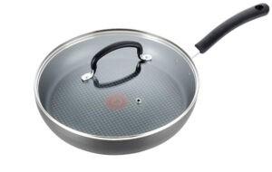 T-fal Hard Anodized Non-stick Ceramic Fry Pan