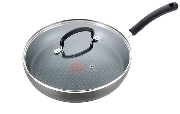 T-fal Hard Anodized Non-stick Ceramic Fry Pan