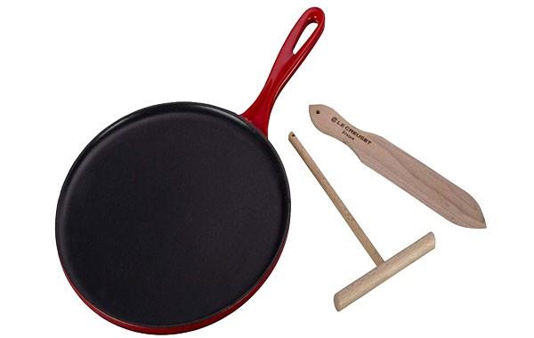 Le Creuset Enameled Cast Iron Crepe Pan