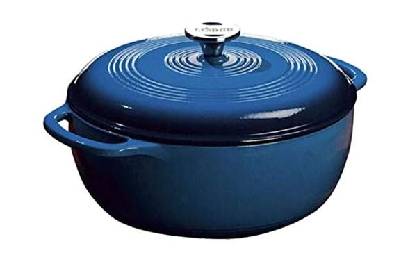 Blue Enamel Dutch Oven