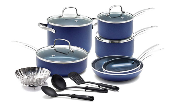 Blue Diamond CC001951-001 Non-stick Cookware Set