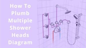 How To Plumb Multiple Shower Heads Diagram