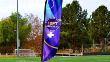 Predesigned Custom Feather Flags